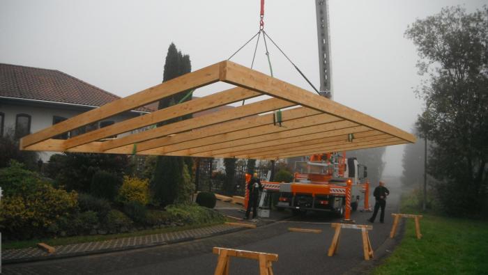 Holzskelettbau konstruktion  Hozbau